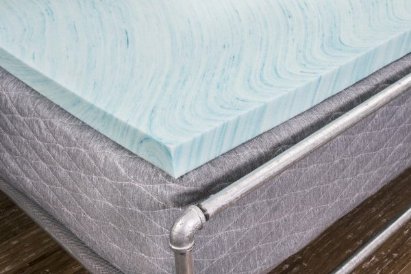 Gel Swirl Topper Corner Bed